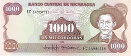 Nicaragua - Pick 156 - 1000 Cordobas 1985 - Unc - Nicaragua