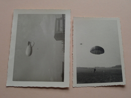 "Para "" B "" April '63 > Ballonsprong SCHAFFEN - Anno 1963 ( Zie Foto's Voor Detail ) 2 Stuks ! - War, Military"