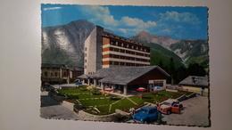 Courmayeur (Aosta) - Grand Hotel Royal - Auto, Car, Voiture - 1966 - Italia