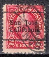 USA Precancel Vorausentwertung Preo, Locals California, San Jose 554-L-1 E - Vereinigte Staaten