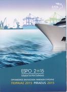 GREECE STAMPS ANNIVERSARIES & EVENTS( PART I)/ESPO 2015 M/S IN FOLDER-7000pcs -20/5/15-MNH - Grèce