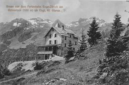 ENGI → Gruss Aus Dem Ferienheim Enge-Zürich Am Gufelstock Ob Engi Kt.Glarus 1910 - GL Glaris