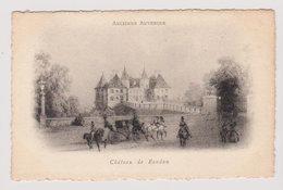 CPA Château De Randan - Maringues Riom Puy-de-Dôme Ancienne Auvergne : Style Gravure Ou Litho Vers 1900 - Maringues