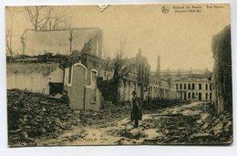 CPA - Carte Postale - Belgique - Menin - Ruines - Rue Neuve - 1919 (M7127) - Menen