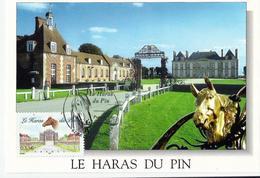 Carte Maximum  Le HARAS Du PIN - Orne 61- - 2000-09