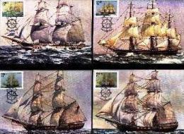 CISKEI, 1985 , Troop Ships,  Mint Maxicards, Nr(s.) 28-31 - Ciskei