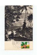 FDC Carte Postale Wallis Et Futuna Premier Jour Mata Utu 1958. Cachet Europe 1 Vous êtes Formidables. (1056x) - FDC