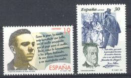 Espagne 1995. Littérature Ed 3356-57 Yv 2946-47 (**) - 1931-Hoy: 2ª República - ... Juan Carlos I