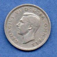 Grande Bretagne  - 6 Pence 1948 -  Km # 862 - état  TTB - 1902-1971 : Monnaies Post-Victoriennes