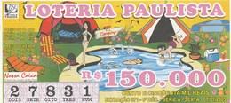 Brasil - 1987 - CAMPING - Billetes De Lotería