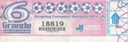URUGUAY 2010 - URUGUAY CAMPEON OLIMPICO 1924 - Billetes De Lotería