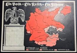 Sudetenland Propagandakarte, Ein Volk, Ein Reich, Ein Führer, Nr. 97 - Weltkrieg 1939-45