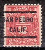 USA Precancel Vorausentwertung Preo, Locals California, San Pedro J68-232 - Vereinigte Staaten