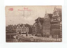 Sur Carte Postale Flamme Gand Exposition 1913. CAD Gand 1913..CAD Ondes Haute Garonne. (1057x) - Flammes