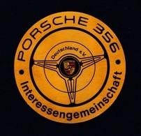 Aufkleber, PORSCHE - IG, RARE ,look Scan !! 13.11-03 - Porsche