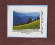 """LA ROUTE DES CRETES - Vosges / Alsace - Neuf ** 2010 - Provient D'un Collector De 10 Timbres """"LA  LORRAINE COMME J'AIME"""" - France"""