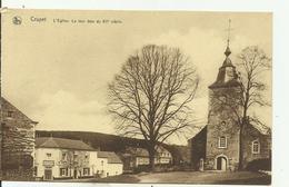 CRUPET   L' église, La Tour Date Du 12eme Siècle. - Assesse