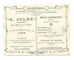 E  Julhe Retoucheur  Lyon - Cartes