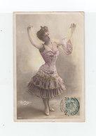 Sur Carte Postale Fantaisie Type Blanc CAD Philippeville Constantine 1904. (1059x) - France (ex-colonies & Protectorats)