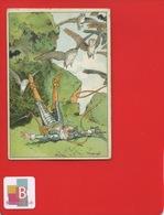 GALACTINA Farine Lactée Alpes SUISSE LE HAVRE Chromo Sirven Histoire Don Quichotte Herouard Armure Chauve Souris Hibou - Chromos