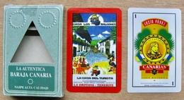 JEU DE 40 CARTES N° 5 SERIE HISTORICA LA AUTENTICA BARAJA CANARIA JUSTO PEREZ NAIPE ALTA CALIDAD - Cartes à Jouer Classiques