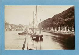 QUIMPER (finistère) -Bords De L'odet, Photo Vers 1900 Format 17,6 Cm X 11,3cm . - Lieux