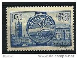 """FR YT 400 """" Visite Souverains Britanniques """" 1938 Neuf** - Neufs"""