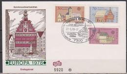 BRD FDC 1978 Nr.969 -971 Europa Baudenkmäler ( D 6051 )  Günstige Versandkosten - FDC: Briefe