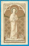 Holycard   St. Augustinus   3    St. Joannes Berchmans - Images Religieuses