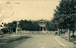 LIEPAJA LIBAU  Léttonie  La Cure ( Rognée à Droite Un Trou) Carte De 1916 - Lettonie
