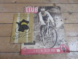 Anciens Journaux Match-Club Livre D'or Du Tour De France - Vieux Papiers