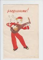 Spirou - Programme - Beauraing -  Format A4 - 1950 - Programmes