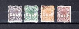 Samoa  1887-99 .-   Y&T  Nº   8-10-12-14    ( 10  Falta Punta ) - Samoa