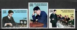 Cuba 2018 / Chess Capablanca MNH Ajedrez Schach Échecs / Cu11402  C3 - Schaken