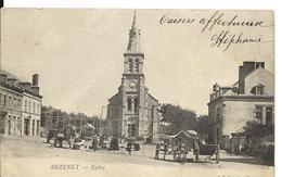 BEZENET Allier Eglise Belle Animation 1903 ..G - France