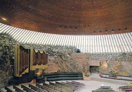 1 AK Finnland * Innenansicht Temppeliaukio-Kirche - Die Felsenkirche In Helsinki Wurde In Einen Granitfels Hineingebaut - Finland