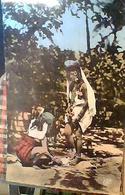 MAROC FEMMES OULED NAILS LAVANT LE LINGE SENO NUDO LAVAGGIO PIEDI V1965 HA7670 - Marocco