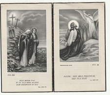Priester VANDEN BERGHE Aumonier Militaire 14/18 Roeselare Brugge Veurne Coxyde Nieuport-Bains Ploegsteert Ypres 1955 - Images Religieuses