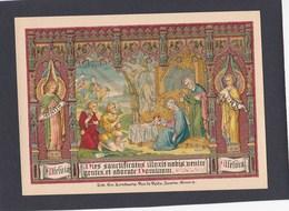 Neogotisch Devotieprentje Kerstmis - Religion & Esotericism