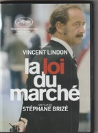 DVD LA LOIE DU MARCHE  Avec Vincent Lindon   Etat: TTB Port 110 Gr Ou 30 Gr - Drama