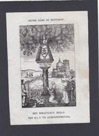 Bedevaartprentje O.L.Vrouw Te Scherpenheuvel - Religion & Esotericism