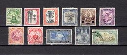 Samoa  1935 .-   Y&T  Nº   121/124-140-145-149-151/152-160-163 - Samoa