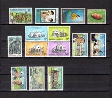 Samoa  1973-81 .-   Y&T  Nº   321-325-328-414-429-456/459-484/487-489 - Samoa