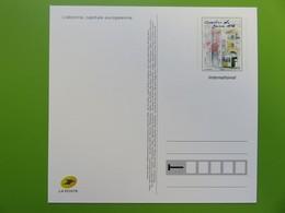 PAP - Carte Postale Pré-timbrée - Timbre International - Lisbonne Capitale Européenne - Série Capitales - Neuf - Documents De La Poste