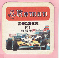 Bierviltje - Roman - Zolder Formule 1 - 1982 Zolder - Sous-bocks