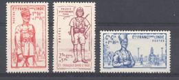 Inde - N° 123 à 125 Neufs * - Inde (1892-1954)