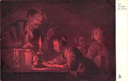 5 CP D'oeuvres D'ART Précurseurs, Vierges Couleur Rouge Originale. Offertes Par La Chicorée Casiez-Bourgeois à CALAIS - Cartes Postales