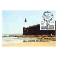 Carte Postale - Calais, L'entrée Du Port - 23/1/2002 - Cartes-Maximum