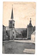 Vierves La Place De L'église Rare Animée - Viroinval