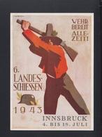 Österreich PK 6. Landesschiessen Innsbruck 1943 - Weltkrieg 1939-45